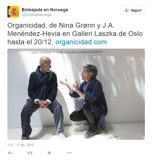 TWEET embajada España