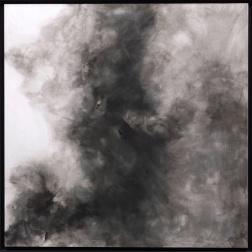 N˚ 99 Grønn 121x121 Tinta sobre papel